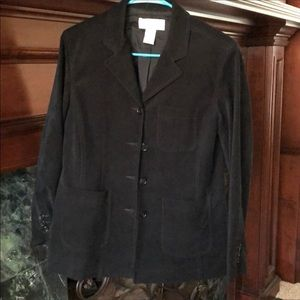 Women's Soft Black Blazer